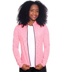 chaqueta deportiva mujer rosada