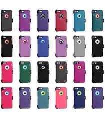 armor rugged defender shockproof protective case cover for  iphone 6 6s 7 8 plus