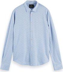 scotch & soda knitted shirt