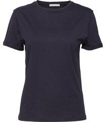 tesolid1 t-shirts & tops short-sleeved blå boss