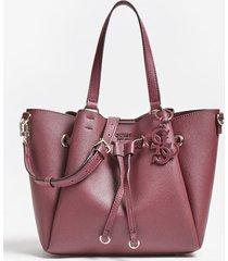 torba na ramię typu shopper z charmsem z logo model digital