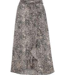 volangkjol emmaly cobra skirt