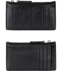 hugo men's tycoon leather cardholder pouch