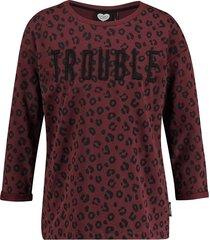catwalk junkie sweater enfant terrible dark ruby bordeaux