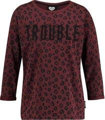 catwalk junkie sweater enfant terrible dark ruby