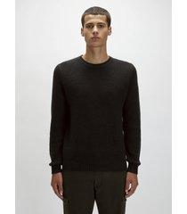 maglione in lana e cotone