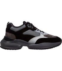 scarpe sneakers uomo camoscio interaction