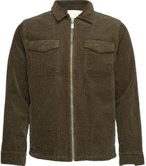 oscar cord jacket jeansjacka denimjacka grön fram