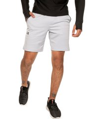 pantaloneta blanco-negro-gris under armour armour mk1 warmup