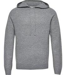 nakkne hoodie trui grijs tiger of sweden