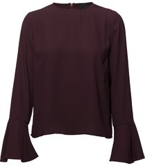 2nd dawn blouse lange mouwen rood 2ndday