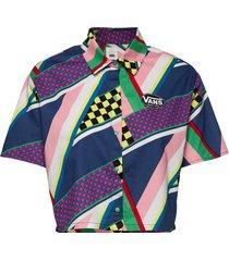 ramp tested top kortärmad skjorta multi/mönstrad vans