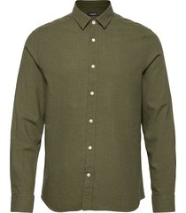 light flannel slim shirt overhemd casual groen j. lindeberg