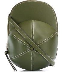 jw anderson cap crossbody bag - green