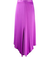 aeron mora high-waisted midi skirt - pink