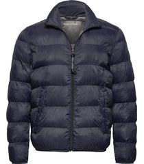 woven outdoor jackets fodrad jacka blå marc o'polo