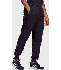 pantalón adidas performance e pln t stanfrd negro - calce regular
