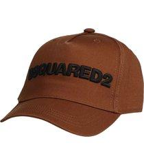 dsquared2 logo cargo baseball cap