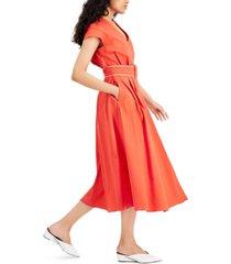 marella numero poplin dress