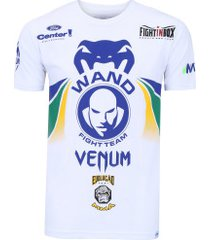 camiseta venum wand retorno - masculina - branco