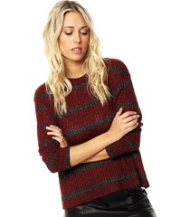 sweater bordo asterisco buarque