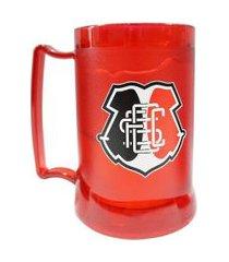 caneca gel santa cruz escudo vermelha