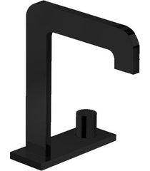 torneira para banheiro mesa com chapa click black noir - 1191.bl98.no - deca - deca