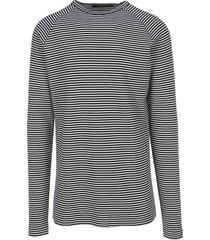 haider ackermann striped t-shirt