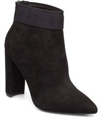 prenom shoes boots ankle boots ankle boots with heel svart ted baker