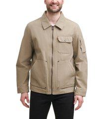 levi's men's cotton canvas 3-pocket mechanics jacket