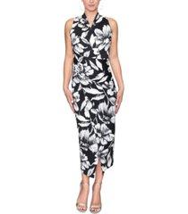 rachel rachel roy bret floral-print faux-wrap midi dress