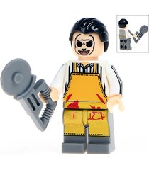 texas chainsaw lego minifigure toys