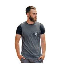 camiseta carpe diem cinza trap style t shirt