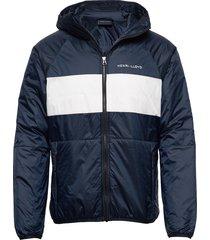 mav hl liner hood jacket dun jack blauw henri lloyd