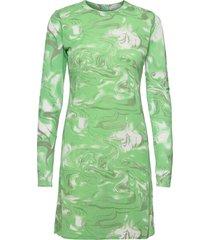 janna dresses t-shirt dresses grön rabens sal r