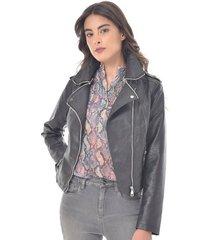 chaqueta para mujer en pu color-700-talla-xl