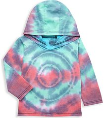 baby's tie-dyed hoodie