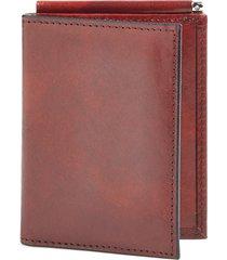 men's bosca old leather money clip wallet - brown