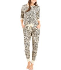 jenni twinning super soft pajama set, created for macy's