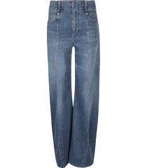 chloé long length jeans