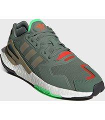 zapatilla urbana day jogger verde adidas originals