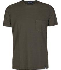 green cotton t-shirt