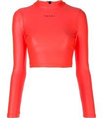 koral activa infinity cropped top - pink