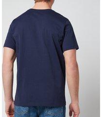 a.p.c. men's item t-shirt - dark navy - xl