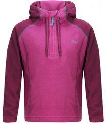chaqueta cold day therm-pro hoody jacket fucsia / purpura lippi