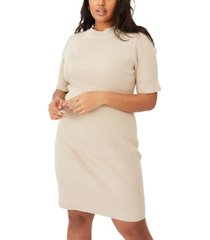 cotton on plus size tahlia true knit mini dress