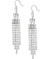 women's cristabelle crystal drama fringe drop earrings