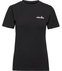 el annifo tee t-shirts & tops short-sleeved svart ellesse