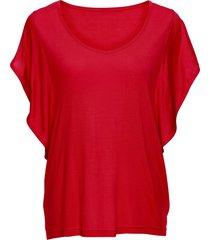 maglia con maniche ad aletta (rosso) - bodyflirt
