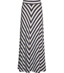 joelle skirt lange rok multi/patroon lexington clothing